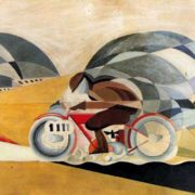 Mario Guido dal Monte, Motociclista, 1927