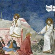 Giotto, Resurrezione e Noli me tangere (1303-1305). Padova, Cappella degli Scrovegni