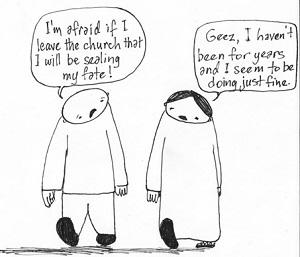 Abbandoni registrazioni ecclesiali