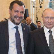 Putin e Salvini