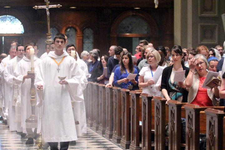 processione iniziale