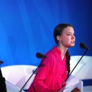 Greta Thunberg, salvaguardia del pianeta,