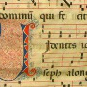 canto gregoriano, Conservatorio di Mantova, canto liturgico