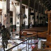 attacco terrorista in una chiesa