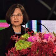 Cai Yingwen (Tsai Ing-wen), president of Taiwan