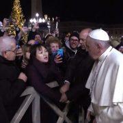 salvini imita papa francesco