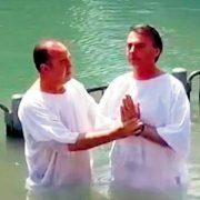 Battesimo evangelicale di Jair Bolsonaro