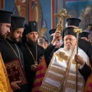 visita del patriarca Bartolomeo a Kiev